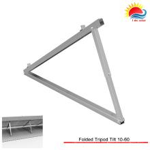 Kit de bâti de toit de panneau solaire en aluminium de puissance verte (XL186)