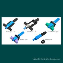 FTTX FTTH Connecteur rapide à fibre optique