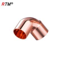 Um cotovelo de encaixe de tubulação de cobre 17 4 11 pex