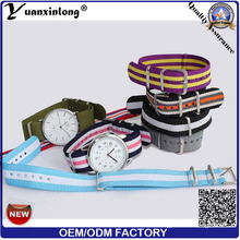 Yxl-630 Custom Logo Nato Watch Nylon Band Teenager Stylist Custom Wrist Watch for Promition Gifts