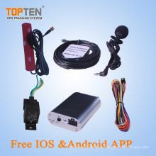 Dispositivo de seguimiento inteligente de vehículos con sistema antirrobo, Lbs + SMS, precio de fábrica, alta calidad, idioma español (TK108-KW)