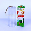 Plastic clear box gift wedding candy
