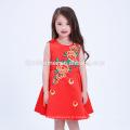 Тусовщица носить западное платье девочка платье детей платьях конструкций один кусок девочек бальные платья