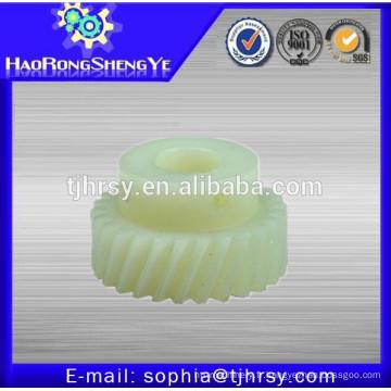 Pignon en plastique / Nylon / POM pignon hélicoïdal