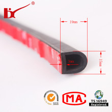 D Shape 3m Adhesive Foam Rubber Weather Strip