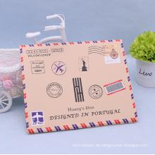 Kundengebundener flacher Faux-Umschlag-Strumpf-Papierkasten