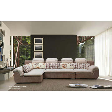 Two Color High Quality China Home Furniture Fabric Sofa (360)