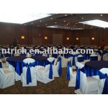 100%polyester chair cover,hotel/banquet chair cover,satin sash