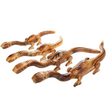 FQ marque unique artisanal garçons enfants poussent figurines en bois jouets animaux