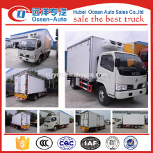 2015 Hot sale 3 Tons DFAC4x2 refrigerator for truck