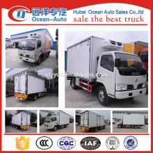 2015 Горячая продажа 3 тонны DFAC4x2 холодильник для грузовика