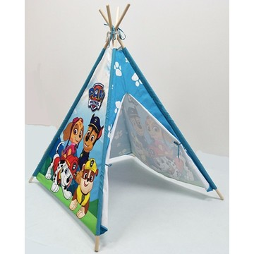 Indian Wigwam Style Cotton Printing Tent for Kids