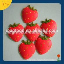 Customized cute 3d fruit fridge magnet