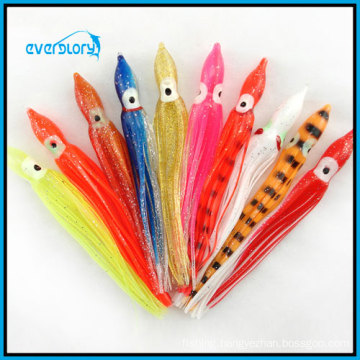 OEM or Wholesale Wh0012 12cm/4.1g Octopus Soft Lure Fishing Tackle Fishing Lure