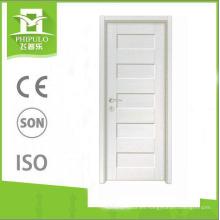 Proveedor de Zhejiang apertura de puertas de panel de MDF puertas de madera de melamina