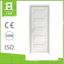Zhejiang supplier swing opening MDF panel doors melamine wooden door