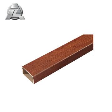 tolerância apertada altos níveis de estoque Tubo de alumínio anodizado 6061 t6