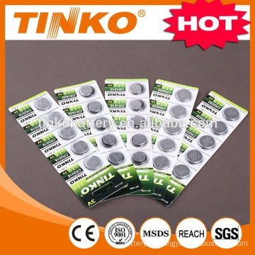 Lithium button cell battery CR2025/2032/2016/2450