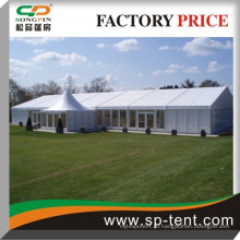 Большая палатка для свадебных торжеств с прокладками и сплошной стеной для всех погодных событий шатер