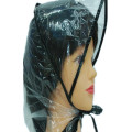 Promotional Cheap Plast Vattentät Clear PE Rain Bonnet