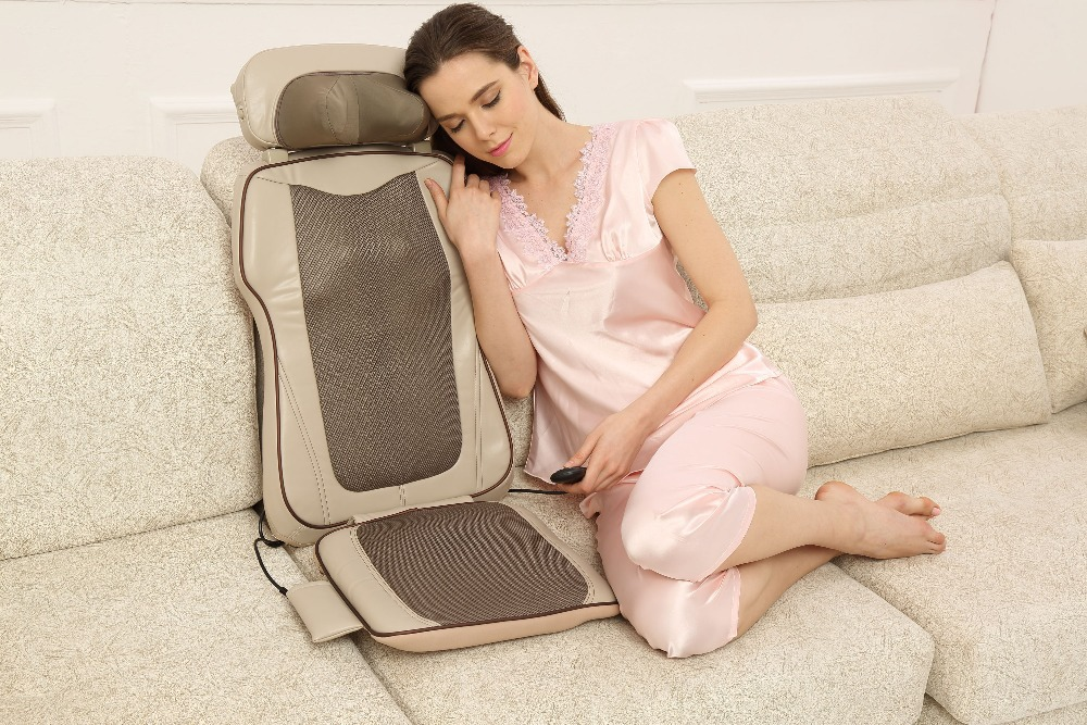 Height Adjustable Shiatsu Massage Cushion