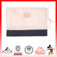 top fashion Canvas clutch bag for man and women's business bag