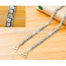 fashion crystal bra straps