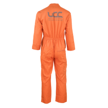 Hot sale for Fluorescent Green Coverall Workwear TC orange overall for work men supply to Dominican Republic Suppliers