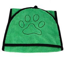 Toalha de banho absorvente para animais de estimação luva para cães