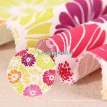 Single Color Flower Patterns 250GSM Textile Canvas