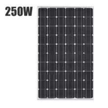 CE IEC TUV Certificated 250W Mono Solar Panels