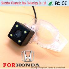 Avec 4 lumières LED pour vision nocturne Caméra arrière spéciale pour Honda Fit / CRV / Odyssey