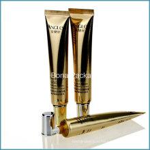 Золотой пластмассы Прокатанная пробка с длинным носиком