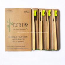 Las mejores cerdas de bambú del cepillo de dientes del sostenedor del cepillo de dientes
