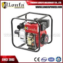 Pompe à eau diesel agricole manuelle professionnelle de 3inch 7HP Chine CE