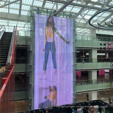 Gute Qualität Transparente Werbung Digitale LED-Anzeige