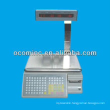 Electronic Scale Barcode Label Printing Weighing Scale Labeling Printing Scale