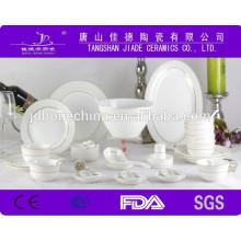 2015 recién diseñado de venta caliente multa china vajilla de porcelana