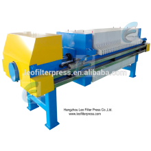 Presse-filtre de déshydratation de boue de traitement des eaux résiduaires de presse de filtre de Leo, presse-papier automatique de traitement des eaux usées