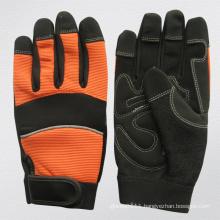 Micro Fiber Palm Mechanic Work Glove (7220)