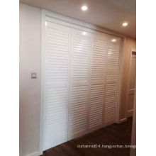 89mm Shutters Solid Wooden Shutters (SGD-S-5748)