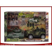 Diy brinquedos conjuntos militares para crianças diy