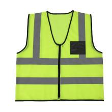 Men's  Hi-Visibility Mesh Vest Reflective Economy Mesh Safety Vests