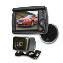 3.5-inch Rear View Receiving System with Water Resistance of IP66, Encased in Metal Housing