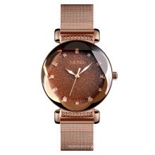 Business Women Stainless Steel Water Resistant Japan Movt Quartz Wristwatch