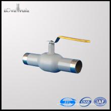 Válvula de bola de acero de carbono válvula de soldadura DN40