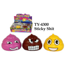 Brinquedo de merda pegajosa