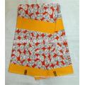 Tela de impressão africano super tecido de algodão de cera de 6 metros para roupas de festa mulher vestido