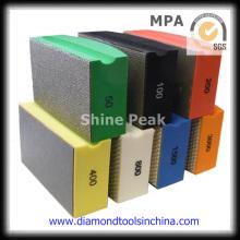 Diamond Hand Pad zum Polieren von Glas