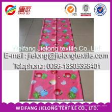 100 percent cotton fabric flower design for bedsheet